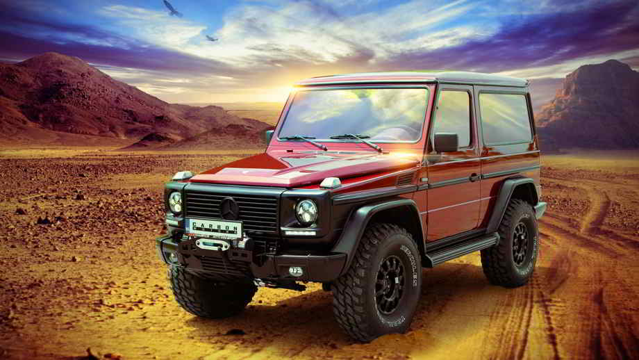 Mercedes G-Class тюнинг Carbon Motors
